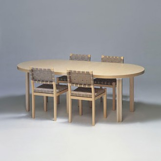 Alvar Aalto Extension Table H99