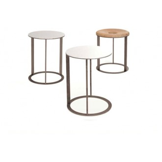 Antonio Citterio SMTT3, SMPT3 and SMTT3B Small Tables and Ottoman