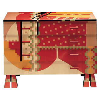 Alessandro Mendini Calamobio Chest Of Drawers