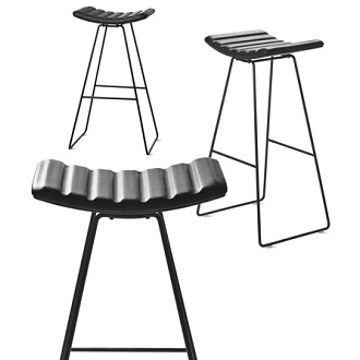 Paul Leroy Gubi A3 Stool