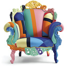 Alessandro Mendini Proust Geometrica Armchair