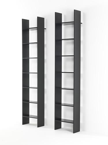 (a+b) dominoni, quaquaro Segno Bookshelf System