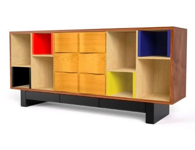 Alain Marzat Mondrian Sideboard