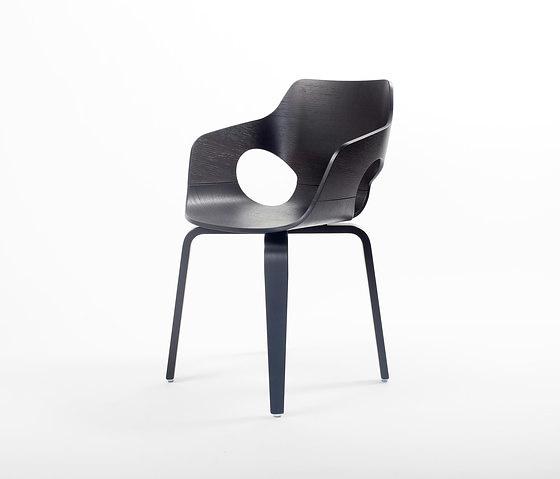 Arend Jan Hovestadt Curved Oak Chair