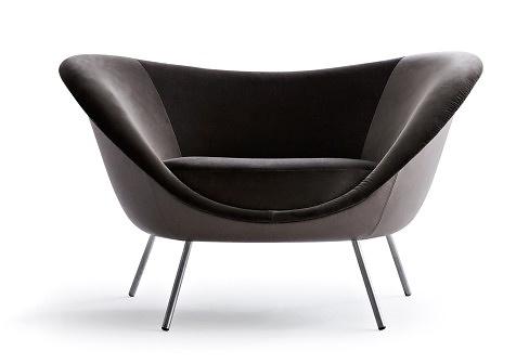 Gio Ponti D.154.2 Armchair