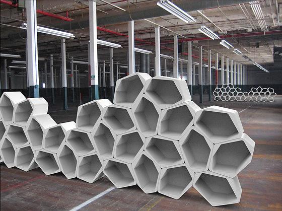 Jack Godfrey Wood and Tom Ballhatchet Build Shelving