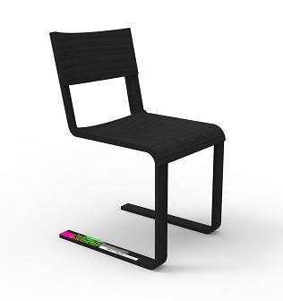 Konstantin Grcic Kyudo Chair