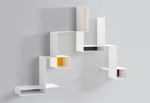 Michael Geldmacher, Eva Paster Randomissimo Wall Shelf