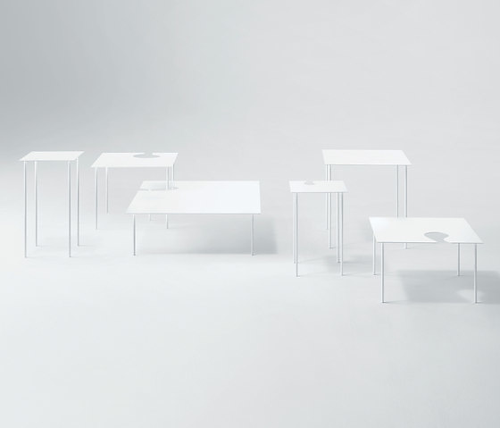 Nendo Softer Than Steel Benches, Chair and Tables
