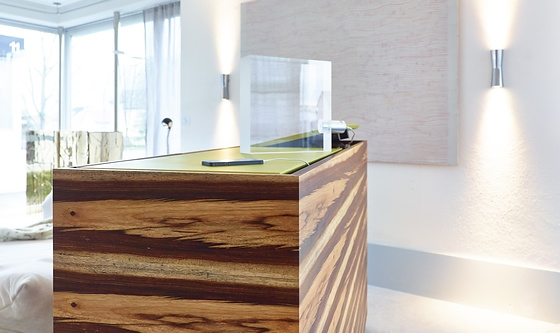 Sarah Maier Highboard In Poison Wood