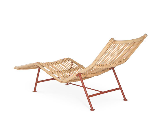 Simo heikkil cane chaise longue for Cane chaise longue