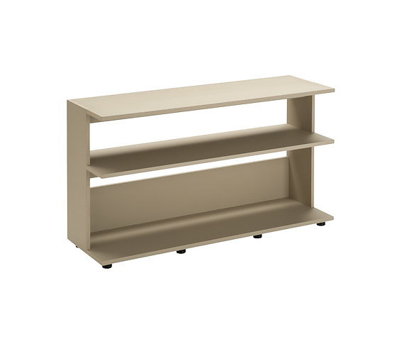 Zanotta Scott Small Tables and Bookcase