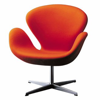 Arne jacobsen swan chair for Chaise arne jacobsen