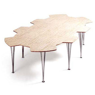 Bruno Mathsson Table Kuggen Mi 182 183