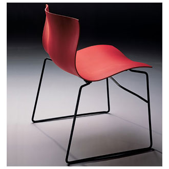 Massimo and Lella Vignelli Handkerchief Stacking Chair
