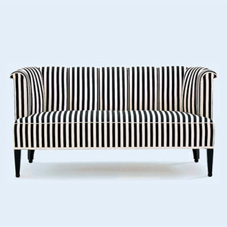 Josef Hoffmann Alleegasse Armchair and Sofa
