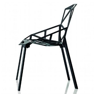 konstantin grcic chair one cement base. Black Bedroom Furniture Sets. Home Design Ideas