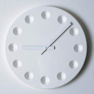 James Irvine Era Ora Wall Clock