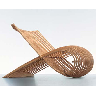 Marc newson embryo chair for Marc newson wooden chair