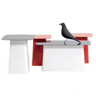 Ronan and Erwan Bouroullec Metal Side Table