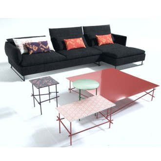 Patricia Urquiola Shanghai Tip Sofa and Tables