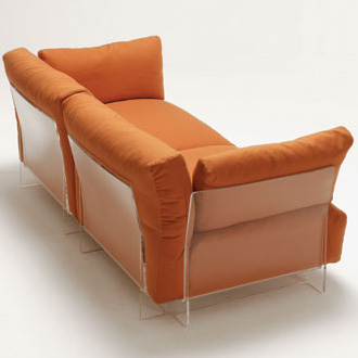 Piero Lissoni Pop Armchair and Sofa