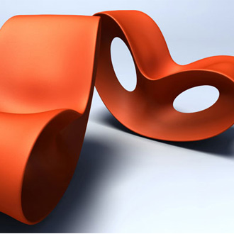 Ron Arad Voido Rocking Chair