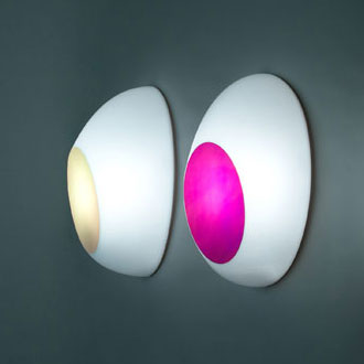 Ross Lovegrove Goggle Wall Lamp