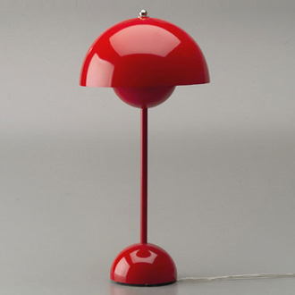 Verner Panton Flowerpot Pendant and Table Lamp