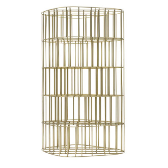 Vincenzo De Cotiis Golden Cage Bookcase