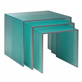 Vittorio Livi Grecale Tris Coffee Tables