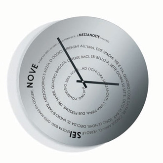 Adriana Frattini and Paula De Salles Juchem 24ore Wall Clock