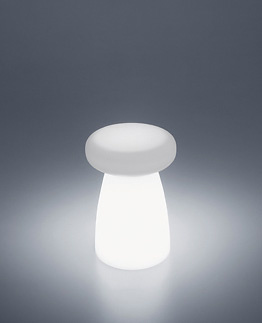 Aldo Cibic Porcino Light Illuminated Stool - Table