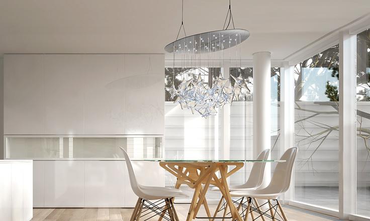 Alessandro Trentin and Massimo Lunardon Morpheo Deluxe Lamp