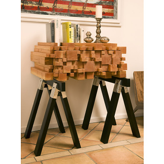 Alexander Purcell Log Pile Side Table