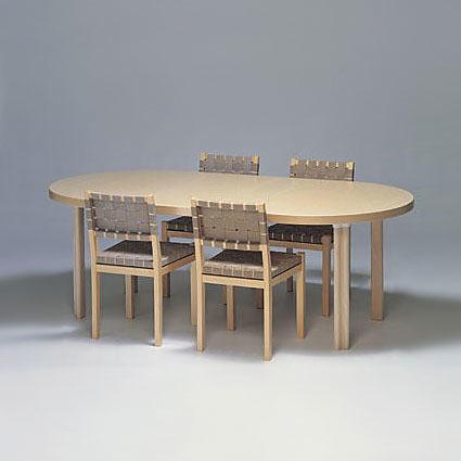 Alvar Aalto Extension Table H99