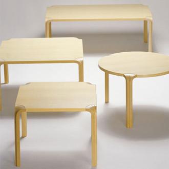 Alvar Aalto Table X800 A-B-C-D
