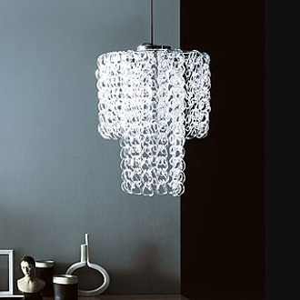 Angelo Mangiarotti P Light Chandelier