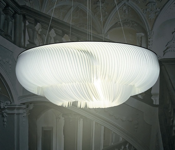 Anja Eder and Michael Römer Moonjelly Corona Pendant Lamp
