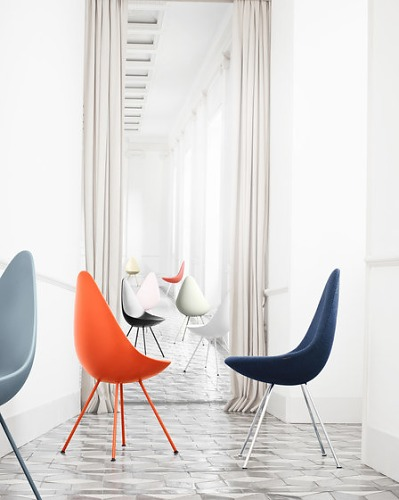 Arne Jacobsen Drop Chair