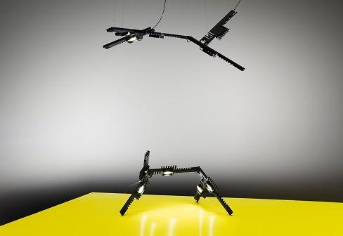 Axel Schmid Manifold Lamp