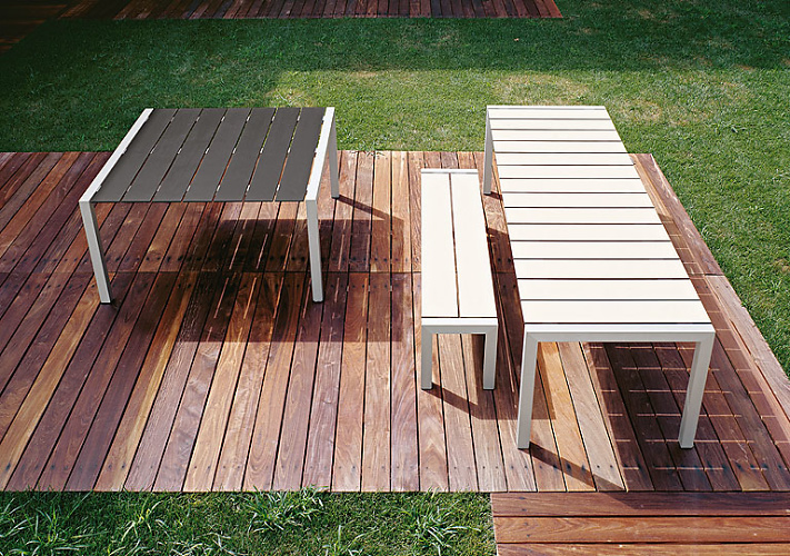 Bartoli Design Sushi Outdoor Table Collection