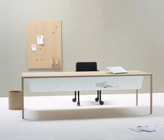 Bertjan Pot Slim Office Desk With Accessories