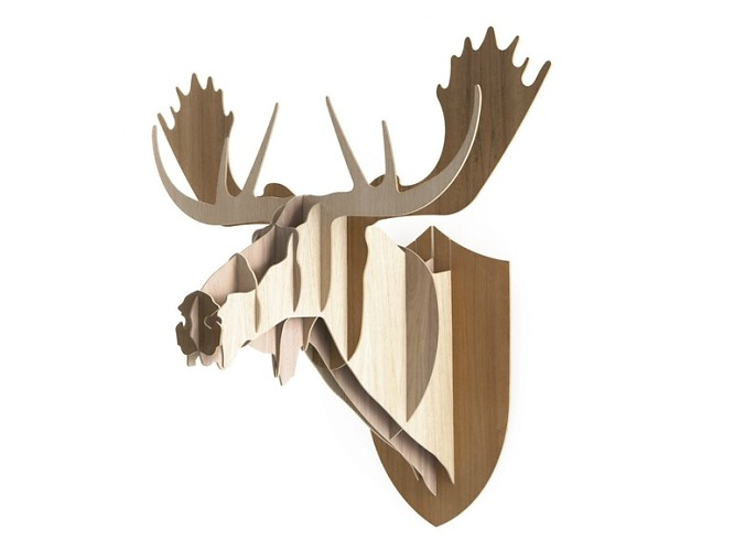 Big-game Moose Wall Decoration