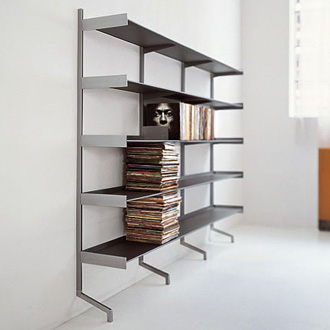 Bluezone and Monica Graffeo Dot System Bookcase