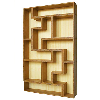 Brave Space Design Tetrad Bamboo Shelving