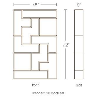 Brave Space Design Tetrad Flat Shelving