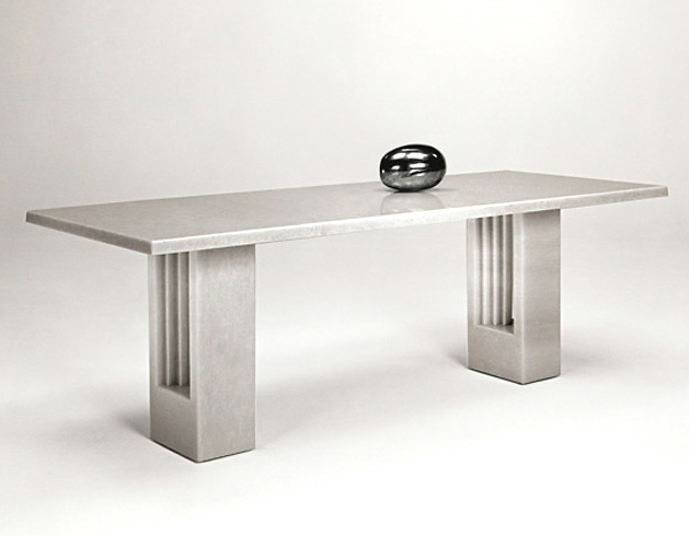 Carlo Scarpa and Marcel Breuer Delfi Table