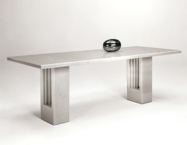carlo scarpa and marcel breuer delfi table. Black Bedroom Furniture Sets. Home Design Ideas