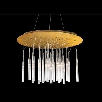 Carlo Zerbaro and Alessandro Trentin Pleiadi Round Hanging Lamp